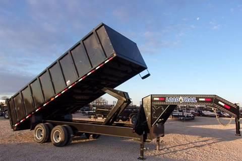 2018 Load Trail 20' Gooseneck Dump Trailer