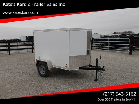 2019 Cross 4X6 Enclosed Trailer for sale in Arthur, IL