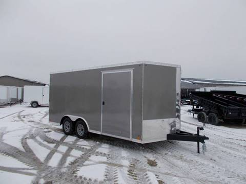 2019 Cross 8.5X16 Enclosed Trailer for sale in Arthur, IL