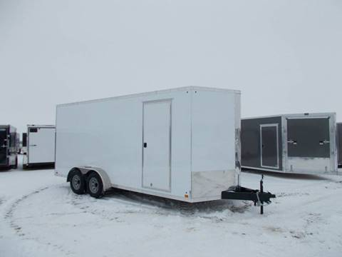 2019 Cross 7X18 Enclosed Trailer for sale in Arthur, IL