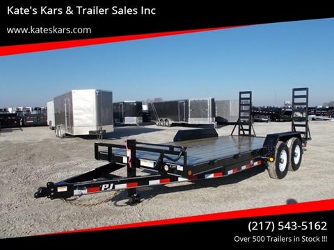 2019 PJ Trailers 18' Equipment Trailer for sale in Aurthur, IL