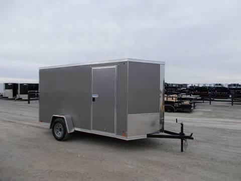 2020 Cross 6X12 Enclosed Trailer for sale in Arthur, IL