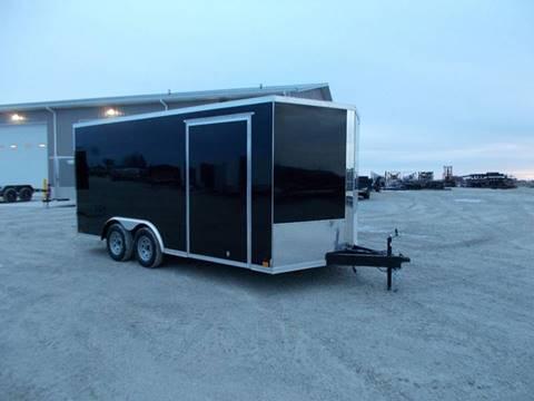 2020 Cross 8.5X16 Enclosed Trailer for sale in Arthur, IL