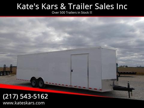 2020 Cross 8.5X28 Enclosed Trailer for sale in Arthur, IL