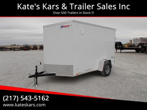2020 Pace 6X10 Enclosed Trailer for sale in Arthur, IL