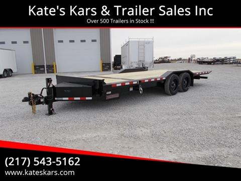2020 Midsota 22' Tilt Equipment Trailer for sale in Arthur, IL