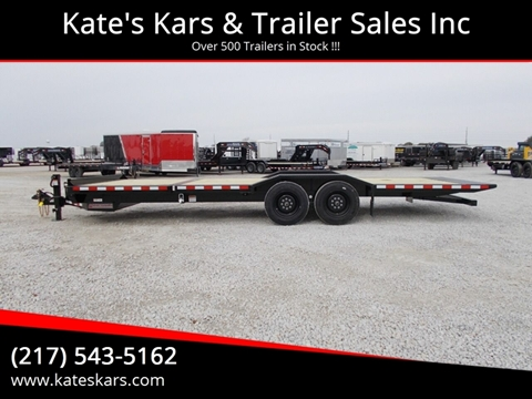 2020 Midsota 24' Tilt Equipment Trailer