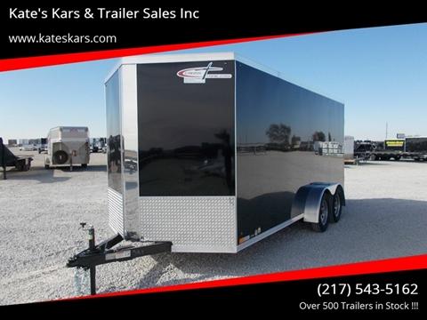 2020 Cross 7X16 Enclosed Trailer for sale in Arthur, IL