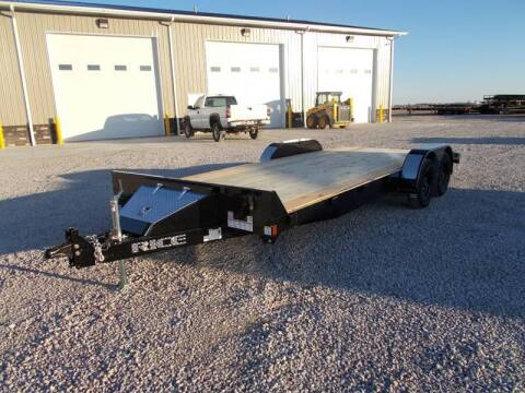 2020 Rice Trailers 20' Car Hauler for sale in Arthur, IL
