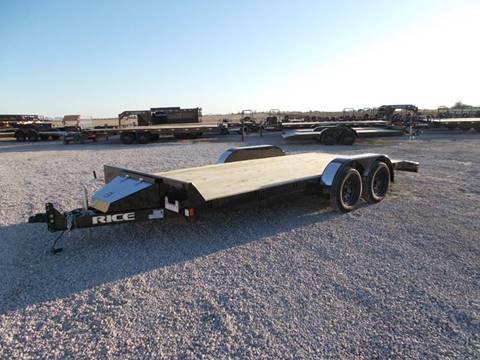 2020 Rice Trailers 18' Car Hauler for sale in Arthur, IL
