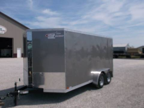 2017 Cross 7X14 Trailer for sale at Kate's Kars & Trailer Sales Inc - Enclosed Trailers in Arthur IL