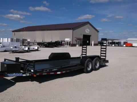 2017 Load Trail 20' Equipment Trailer for sale at Kate's Kars & Trailer Sales Inc - Flat Bed Trailers in Arthur IL