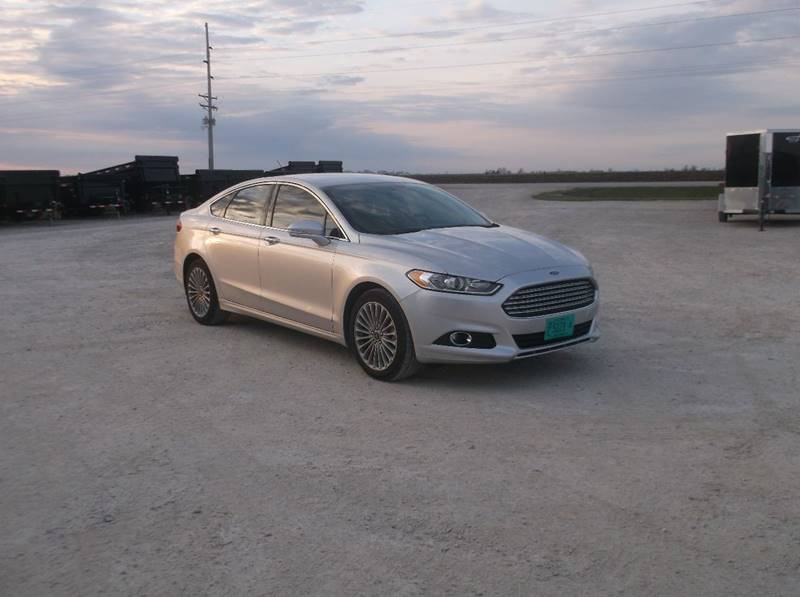 2016 Ford Fusion for sale at Kate's Kars & Trailer Sales Inc - Vehicles in Arthur IL