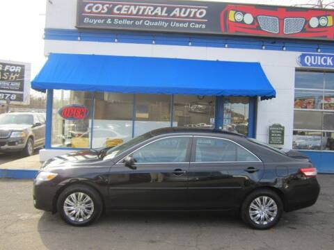 2010 Toyota Camry LE for sale at Cos Central Auto in Meriden CT