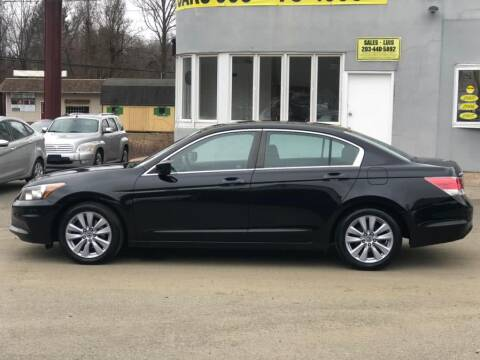 2011 Honda Accord EX for sale at Cos Central Auto in Meriden CT