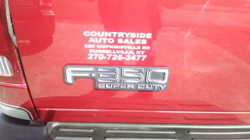 2002 Ford F-350 Super Duty 2dr Standard Cab XLT 4WD LB - Russellville KY