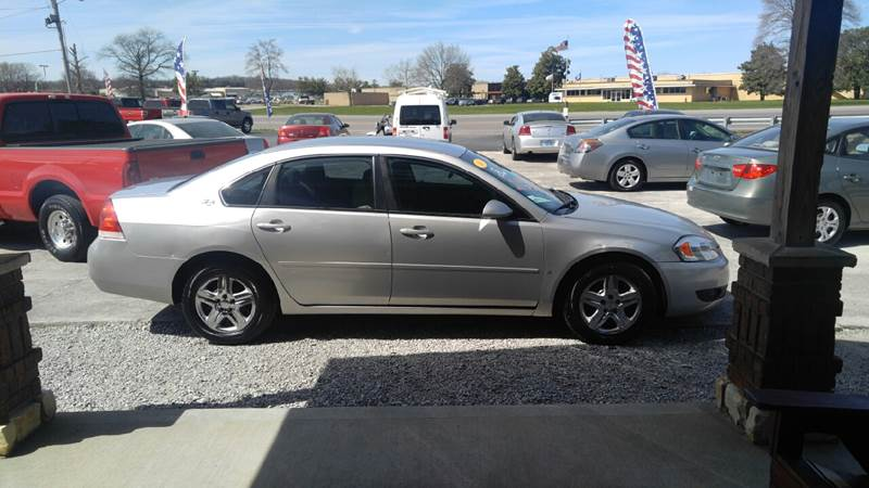 2006 Chevrolet Impala LS 4dr Sedan w/ roof rail curtain delete - Russellville KY