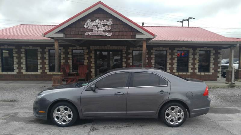 2010 ford fusion se 4dr sedan in russellville ky - countryside auto