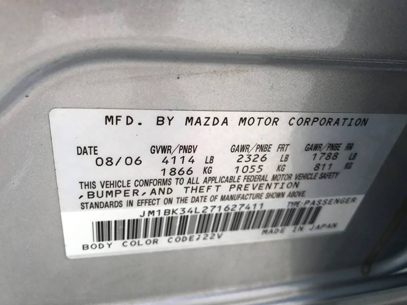 2007 Mazda MAZDASPEED3 Sport 4dr Wagon - Louisville KY