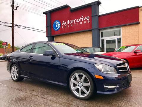 2014 Mercedes-Benz C-Class for sale in Louisville, KY