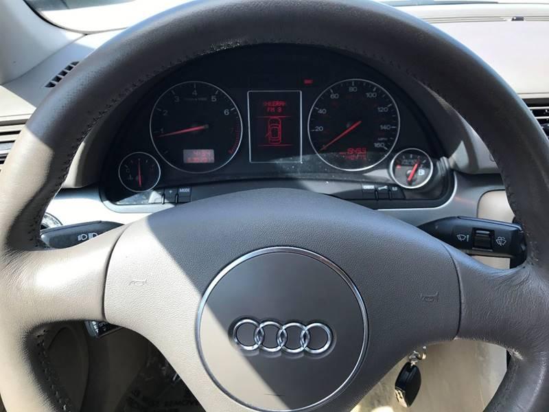2002 Audi A4 AWD 1.8T quattro 4dr Sedan - Louisville KY