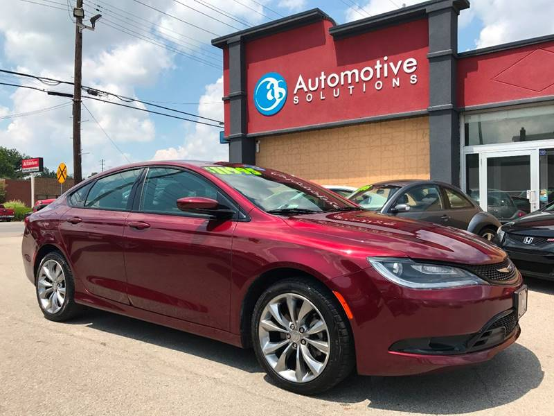 2015 Chrysler 200 S 4dr Sedan - Louisville KY