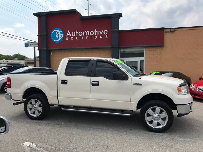 2008 Ford F-150 4x4 Lariat 4dr SuperCrew Styleside 5.5 ft. SB - Louisville KY