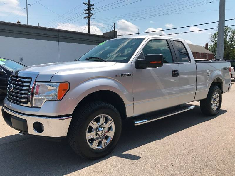 2010 Ford F-150 4x4 XLT 4dr SuperCab Styleside 6.5 ft. SB - Louisville KY