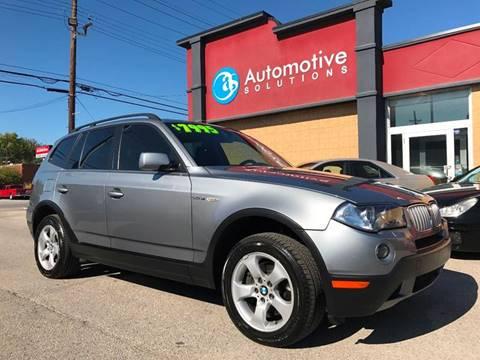 2007 BMW X3 For Sale  Carsforsalecom