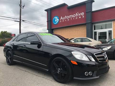 2010 Mercedes-Benz E-Class for sale in Louisville, KY