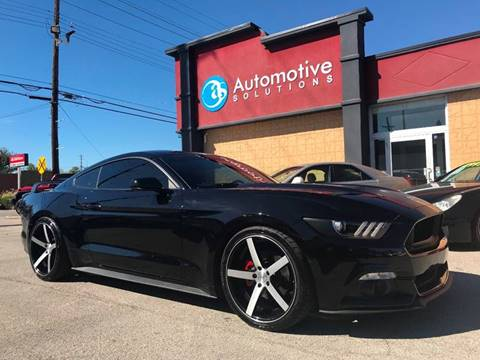 2015 Ford Mustang for sale in Louisville, KY