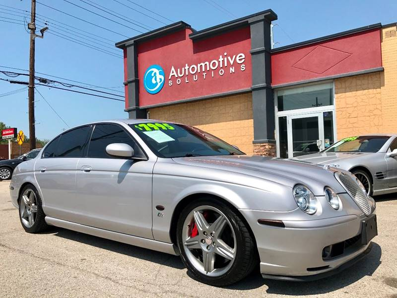2003 Jaguar S Type R R 4dr Supercharged Sedan   Louisville KY