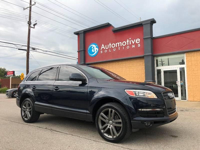 Audi Q AWD Quattro Premium Plus Dr SUV In Louisville KY - Audi louisville