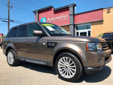 Louisville Land Rover >> Land Rover For Sale In Louisville Ky Automotive Solutions