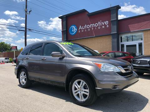 2010 Honda CR-V for sale at Automotive Solutions in Louisville KY