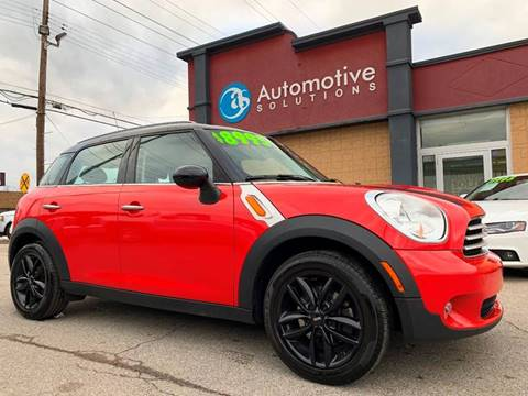 2012 MINI Cooper Countryman for sale at Automotive Solutions in Louisville KY