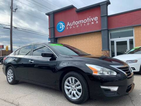 2014 Nissan Altima for sale at Automotive Solutions in Louisville KY
