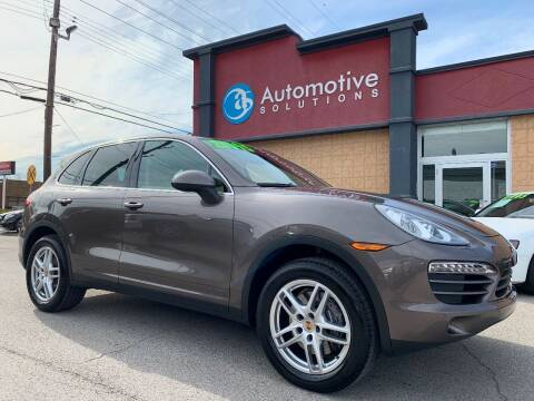 2014 Porsche Cayenne for sale at Automotive Solutions in Louisville KY