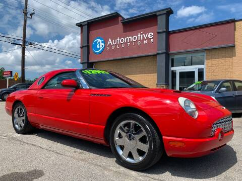 2002 Ford Thunderbird for sale at Automotive Solutions in Louisville KY