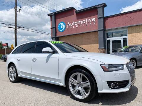 2013 Audi Allroad for sale at Automotive Solutions in Louisville KY
