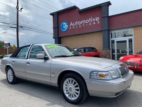 2009 Mercury Grand Marquis for sale at Automotive Solutions in Louisville KY