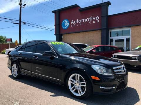 2009 Mercedes-Benz C-Class for sale at Automotive Solutions in Louisville KY