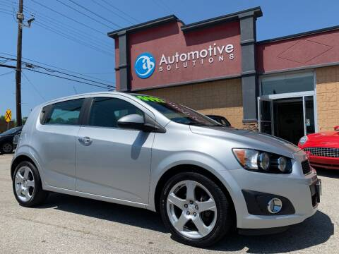 2014 Chevrolet Sonic for sale at Automotive Solutions in Louisville KY