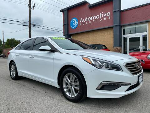 2015 Hyundai Sonata for sale at Automotive Solutions in Louisville KY