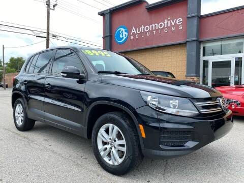 2014 Volkswagen Tiguan for sale at Automotive Solutions in Louisville KY