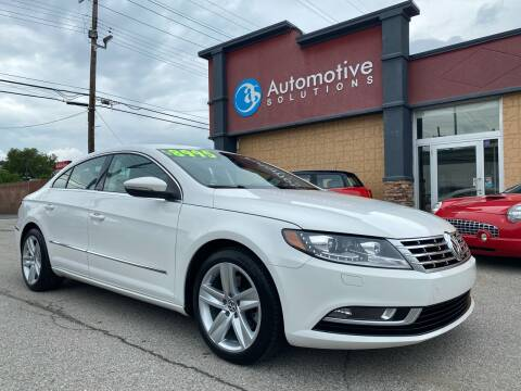 2013 Volkswagen CC for sale at Automotive Solutions in Louisville KY