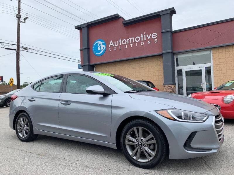 2017 Hyundai Elantra for sale at Automotive Solutions in Louisville KY