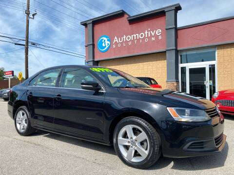2013 Volkswagen Jetta for sale at Automotive Solutions in Louisville KY