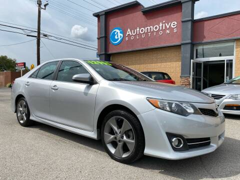 2014 Toyota Camry for sale at Automotive Solutions in Louisville KY