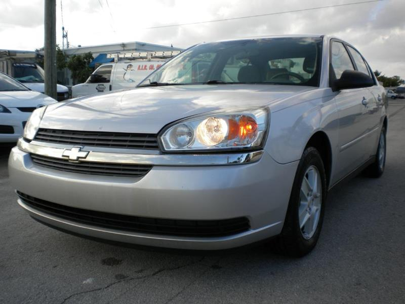 2005 Chevrolet Malibu For Sale At Drivers Choice In Fort Lauderdale FL